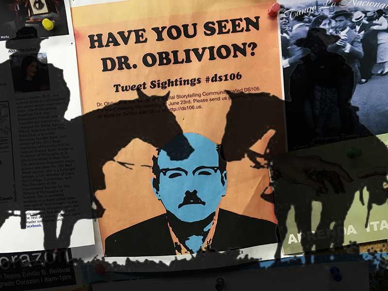 Was it outlaws that got Dr Oblivion?