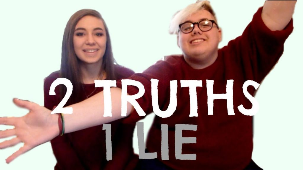 "screen shot from YouTube video ""2 TRUTHS 1 LIE w/ ITSS HEATHER"""