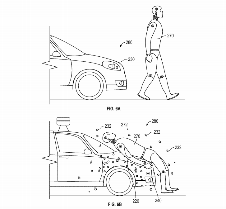 "From The Verge story  ""Google patents pedestrian flypaper for self-driving cars"""