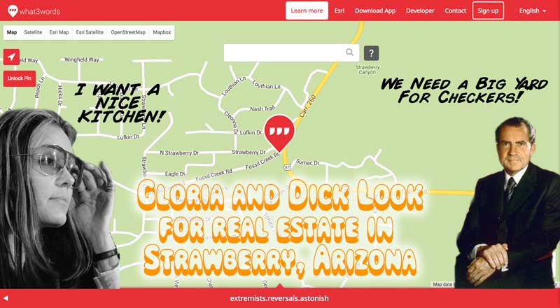 Strawberry Arizona is the location of Extremists who do reversals and astonish us.