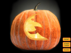 virtual pumpkin carving